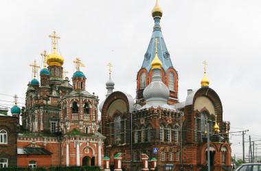 Приход храмового комплекса в честь Смоленской и Владимирской икон Божией Матери