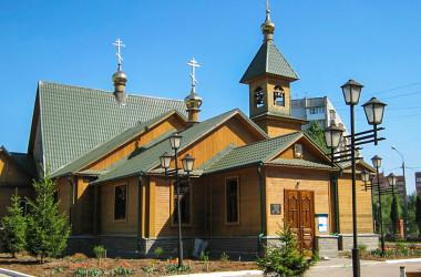 Приход церкви в честь Иверской иконы Божией Матери