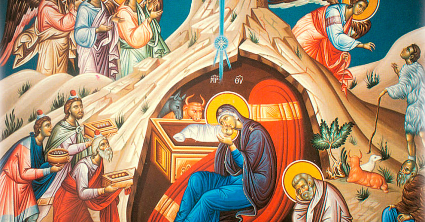 Рождественское поздравление благочинного Канавинского округа иерея Дионисия Покровского