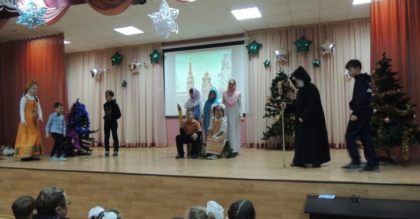 Премьера рождественского спектакля