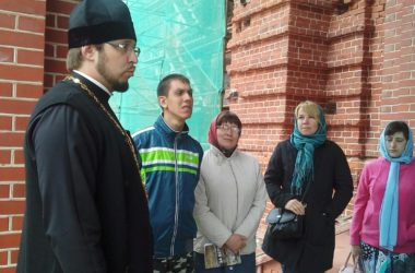 Экскурсия по храмовому комплексу для «Верас»