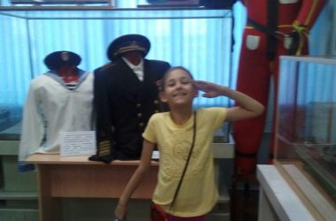 «Одигитрия» в музее речного флота