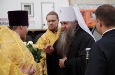 Митрополит Георгий совершил Божественную литургию в нижегородской исправительной колонии №5