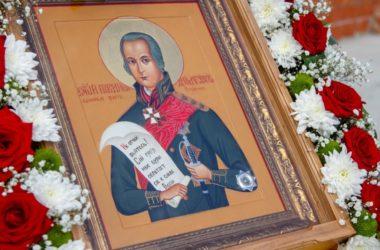 Закладка храма в честь святого праведного воина Феодора Ушакова