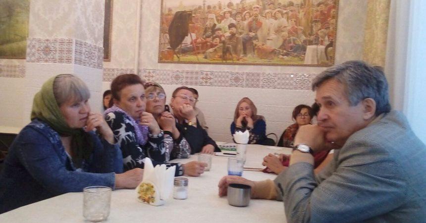 Нарколог в гостях у семейного клуба «Трезвение»