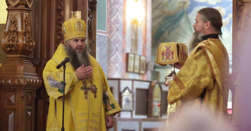 Митрополит Георгий совершил Божественную литургию в Александро-Невском кафедральном соборе Нижнего Новгорода