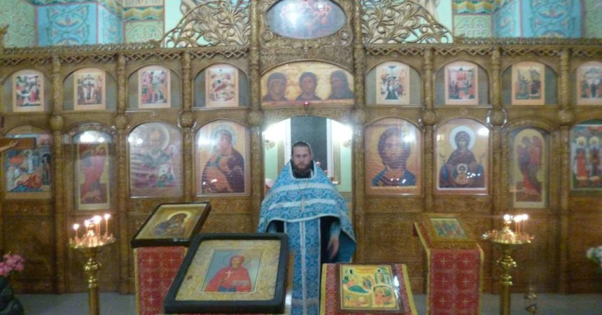 Молебен в исправительной колонии №5