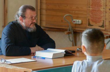 Первые занятия в Дружине имени святого праведного воина Феодора Ушакова