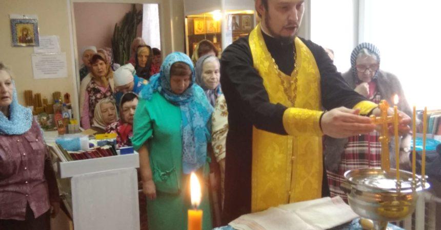 Молебен в больнице №10 Канавинского района