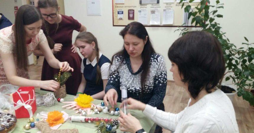 День мамы в гимназии им. А.Невского