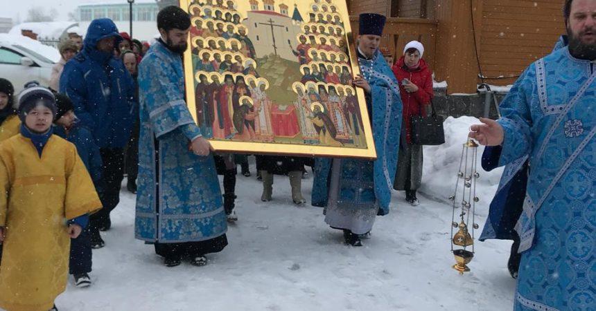 Престольный праздник церкви в честь Иконы Божией Матери Иверской