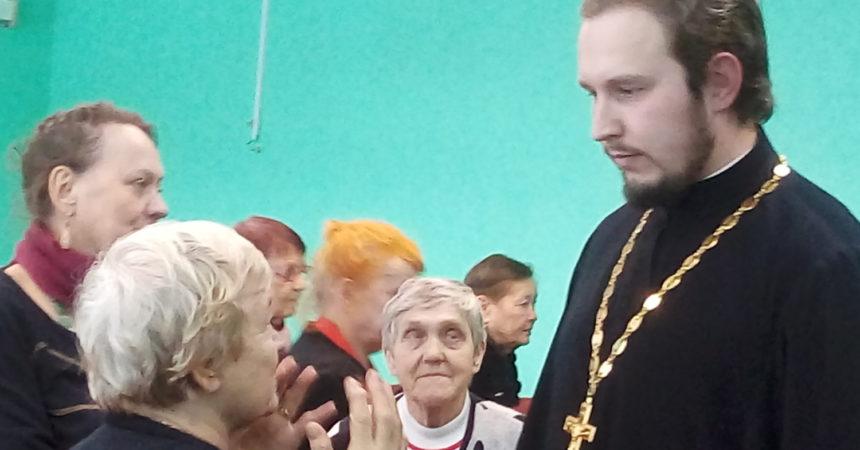 Встреча с пенсионерами и инвалидами
