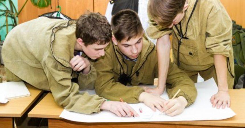 Юношеские сборы военно-патриотических клубов, посвященные памяти Феодора Ушакова