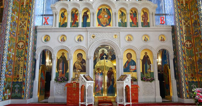 В Канавинском районе Нижнего Новгорода освящен храм в честь Владимирской иконы Божией Матери