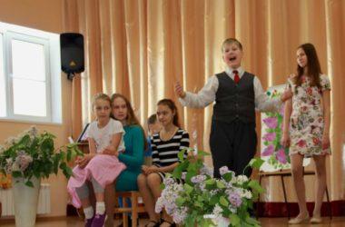 Выступление театра «Ковчег» в православной гимназии