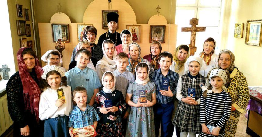 06 мая 2019 г. проведены Пасхальные концерты воскресной школы Иверского храма для «Дорожных больниц»