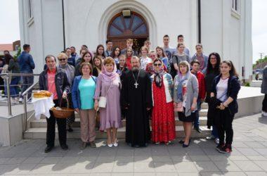Воспитанники нижегородской Ушаковской дружины посетили гимназию «Лаза Костич» города Нови-Сад Республики Сербия