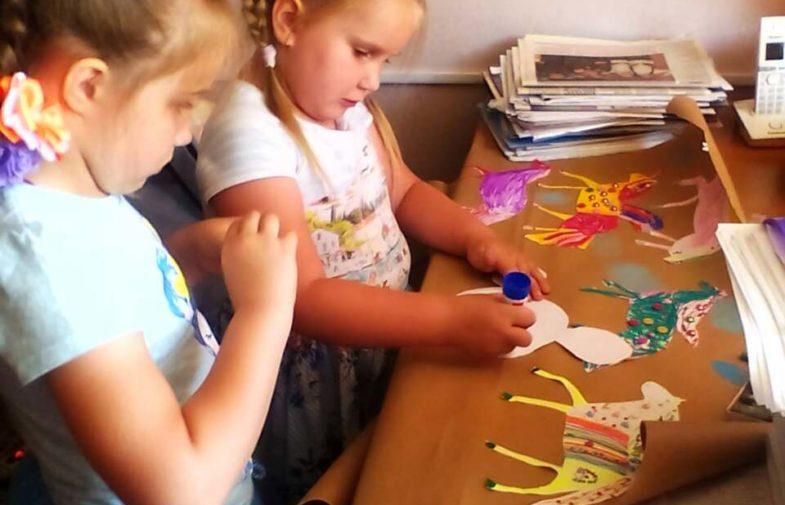 Уроки творчества в детском лагере «Одигитрия»