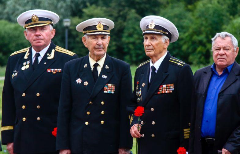 Празднование 217-й годовщины со дня рождения великого флотоводца России Павла Нахимова