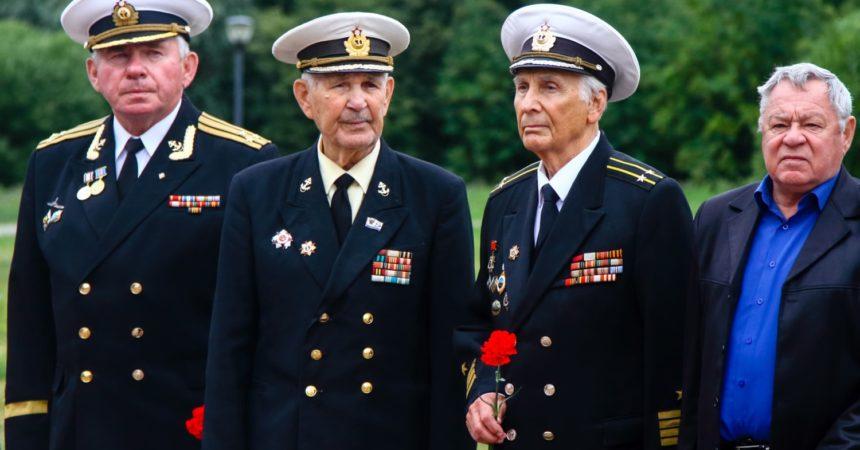 Празднование 217-й годовщины со дня рождения Павла Нахимова