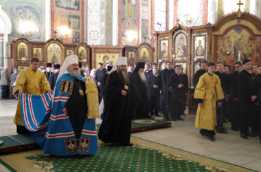 В кафедральном соборе Нижнего Новгорода отметили престольный праздник
