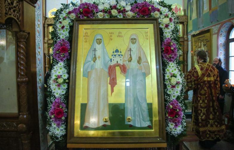 Сотрудники Канавинского благочиния посетили автозаводский храм преподобномученицы Елисаветы