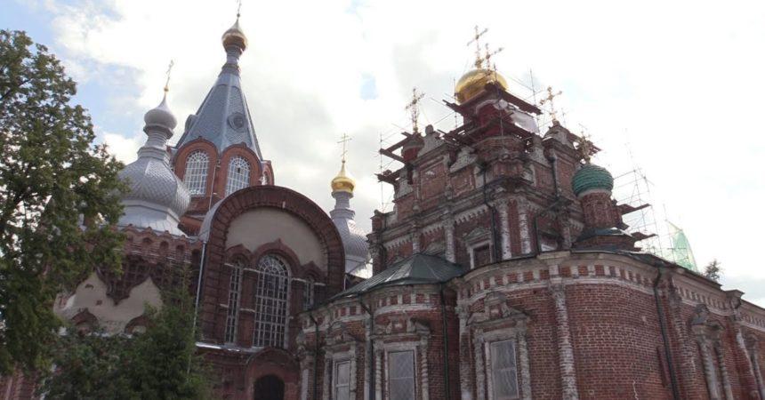Божий дом. Восстановление храмов в Нижнем Новгороде.