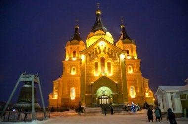 31 декабря 2019 года в Кафедральном соборе Александра Невского митрополит Нижегородский и Арзамасский ГЕОРГИЙ совершил молебное пение по случаю гражданского новолетия