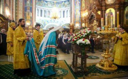 6 декабря Митрополит Георгий совершил Божественную литургию в Александро-Невском кафедральном соборе Нижнего Новгорода