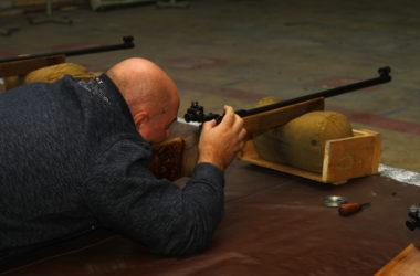Занятия по пулевой стрельбе для «ушаковцев» состоялись 21 декабря 2019 года