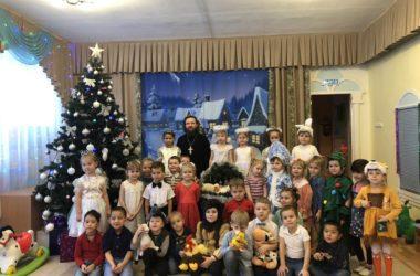 Рождественский спектакль состоялся в детском саду №8 Канавинского района
