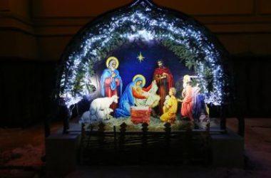 Митрополит Георгий совершил Великую вечерню в Александро-Невском кафедральном соборе Нижнего Новгорода 7 января 2020 года