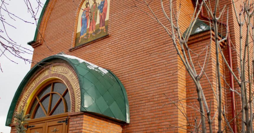 Освящение колокола-благовеста в исправительном учреждении №5