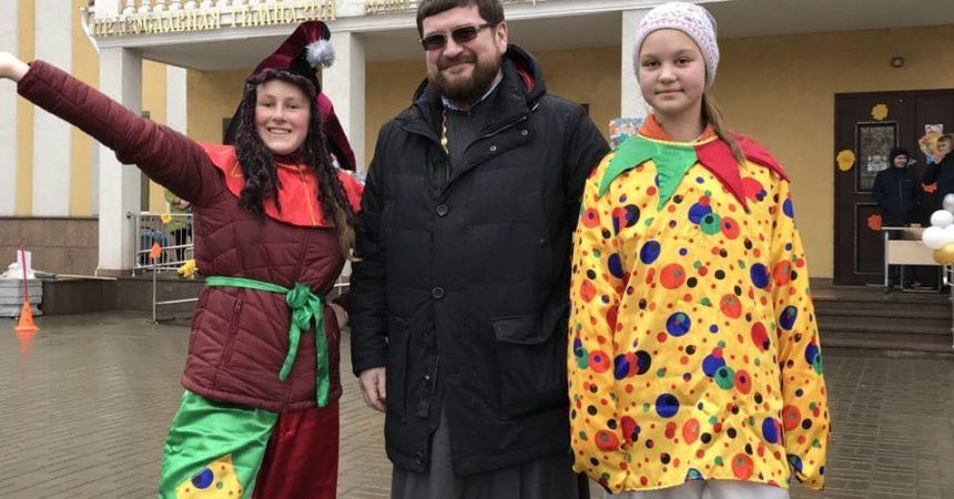 Мероприятие «Широкая масленица» прошло в православной гимназии имени Александра Невского