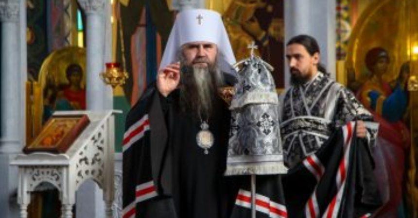 11 марта 2020 года Митрополит Нижегородский и Арзамасский Георгий совершил Литургию Преждеосвященных Даров в храме в честь Владимирской иконы Божией Матери