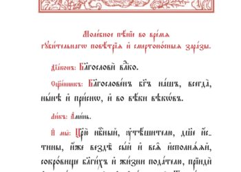 Обращение митрополита Нижегородского и Арзамасского ГЕОРГИЯ в связи с угрозой распространения коронавирусной инфекции