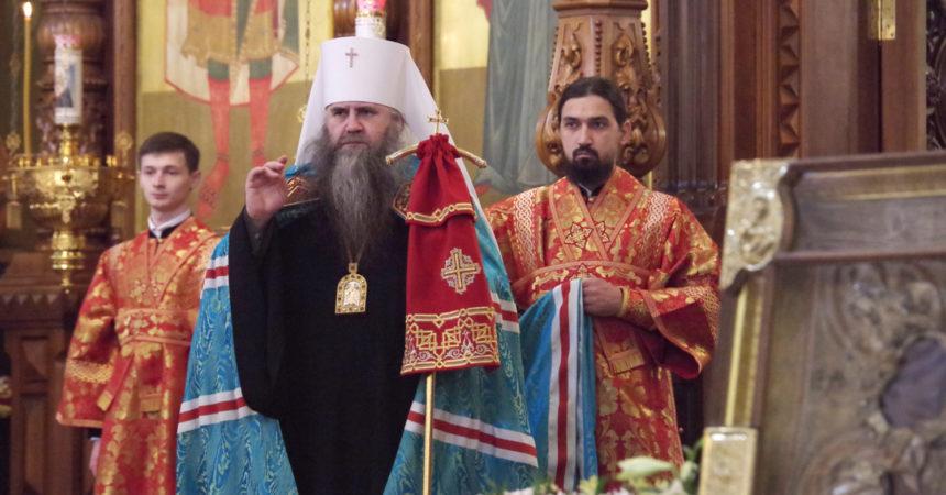 В Светлый вторник митрополит Георгий совершил Божественную литургию в Александро-Невском кафедральном соборе Нижнего Новгорода