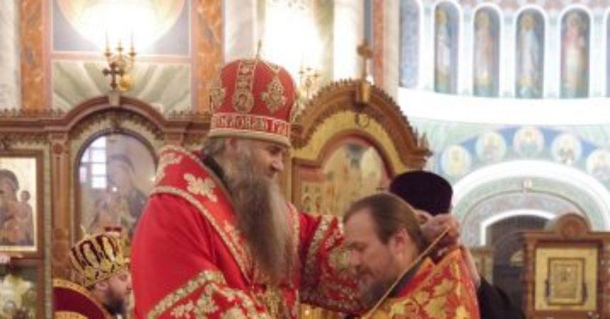 В Светлую среду митрополит Георгий совершил Божественную литургию в Александро-Невском кафедральном соборе Нижнего Новгорода