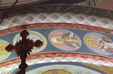 В Александро-Невском кафедральном соборе Нижнего Новгорода митрополит Георгий совершил всенощное бдение с акафистом святителю Николаю Чудотворцу