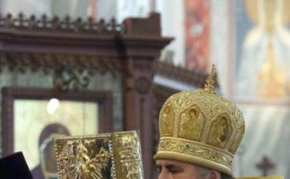 Митрополит Георгий совершил Божественную литургию в Александро-Невском кафедральном соборе