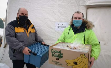 Благочиние Канавинского округа организовало пункт горячего питания для сотрудников МЧС, принимавших участие в устранении последствий ЧС