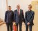 Встреча с подполковником в отставке Валерием Шустовым была организована для учащихся гимназии Александра Невского в феврале 2021 года