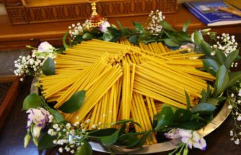В Александро-Невском кафедральном соборе Нижнего Новгорода отпраздновали Сретение Господне