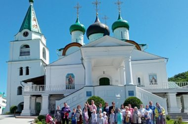 Экскурсия «Любимый Нижний Новгород» состоялась для воспитанников Воскресной школы «Одигитрия» 06 июня 2021 года