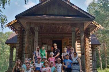 Торжественное закрытие детского лагеря «Одигитрия» состоялось 01 июля 2021 года
