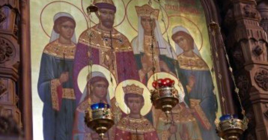 В 103-ю годовщину расстрела царской семьи митрополит Георгий совершил Божественную литургию в Александро-Невском кафедральном соборе Нижнего Новгорода